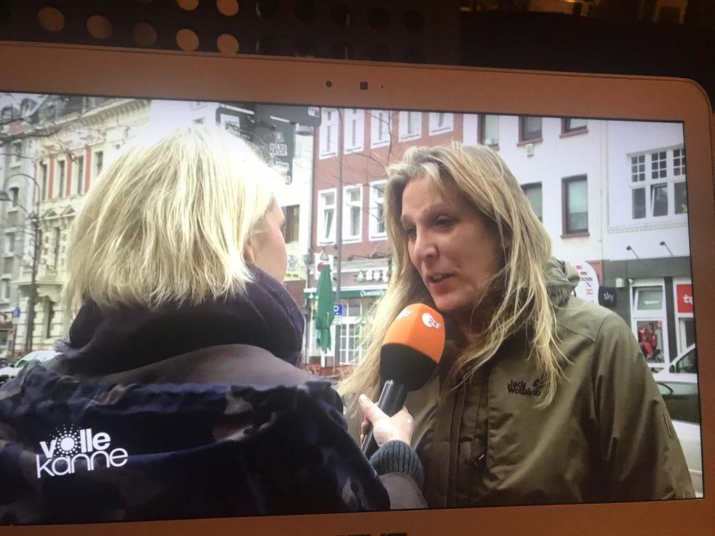Monika Sieberichs im ZDF