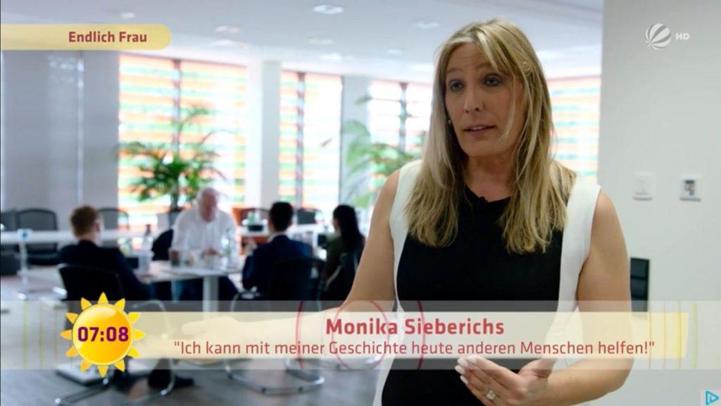 Monika Sieberichs bei Sat 1